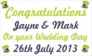 wedding banner st helens