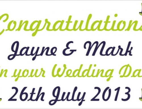 Wedding Banners for that Special Day