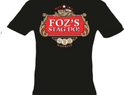 Stag Party St Helens Tshirt and Printing Provider