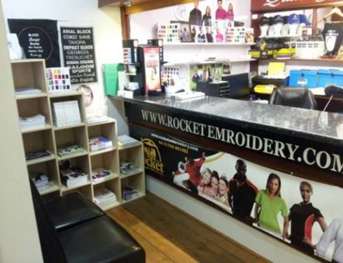 Rocket Embroidery Factory Shop Newly Refurbished