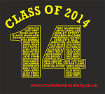 Leavers Hoodies 2014 paint