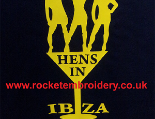 Hen Party T shirts St Helens Printed and T shirts supplied by Rocket Embroidery
