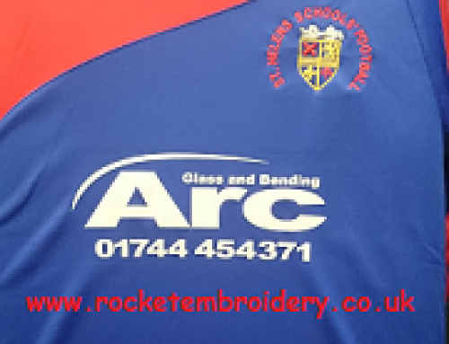 Sponsor Printing & Embroidery for Team Kits