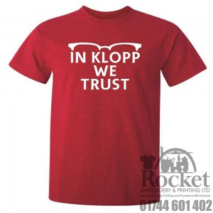 In Klopp we Trust LFC T-Shirt