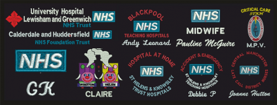 NHS Embroidered Logo