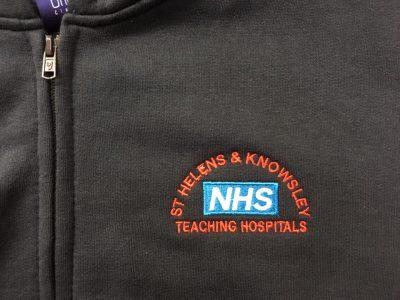 NHS Full Zip Hoodie