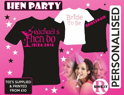 Hen party t-shirt ideas