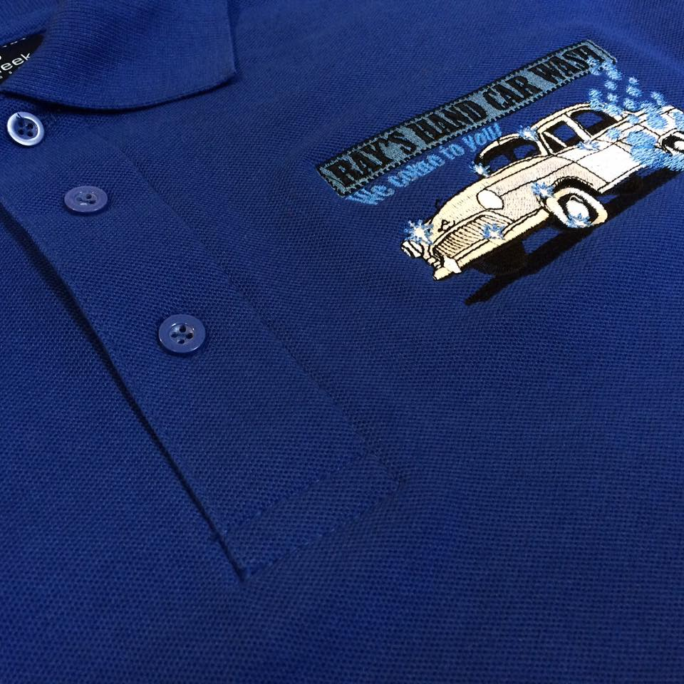 Embroidered Polo Shirts are ideal for Staff Uniforms