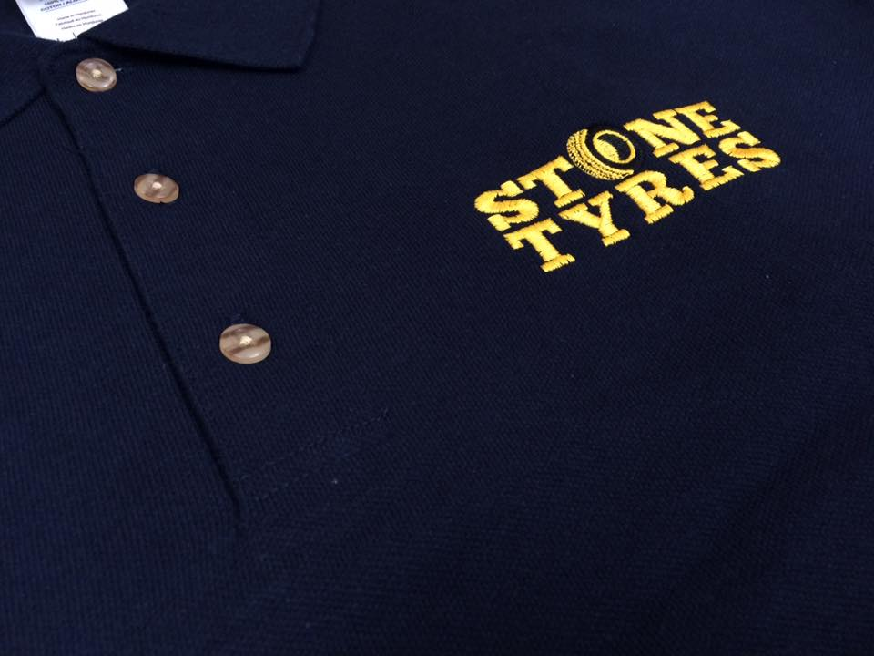 Embroidered Sweatshirts for Stone Tyres